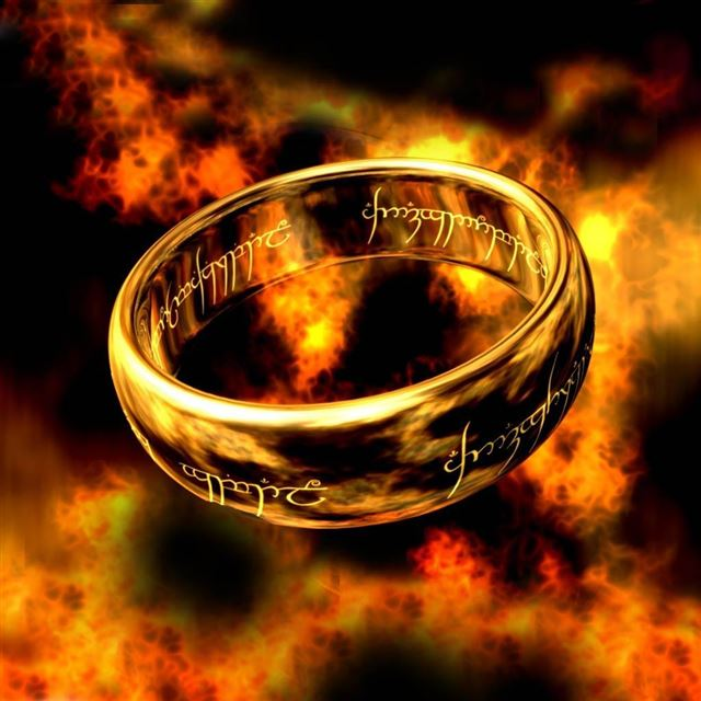 One Ring To Rule Them All iPad wallpaper