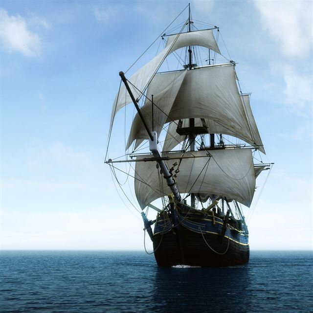 Pirates Ship iPad wallpaper