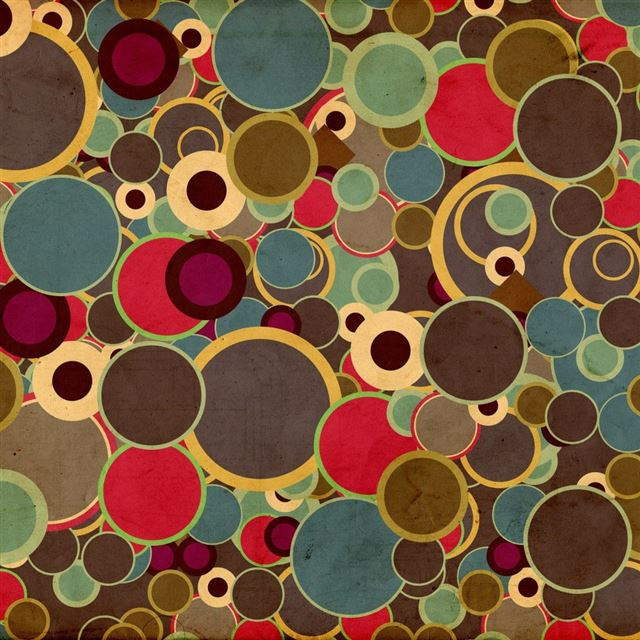 Polka Dots iPad wallpaper