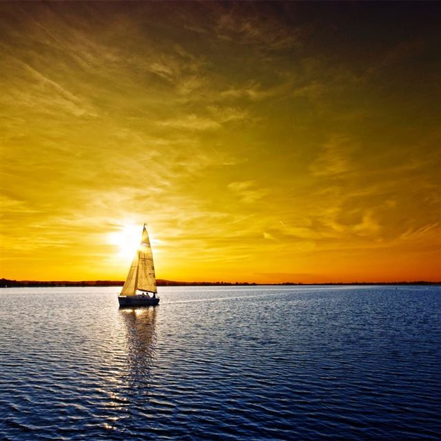 Sailboat iPad wallpaper