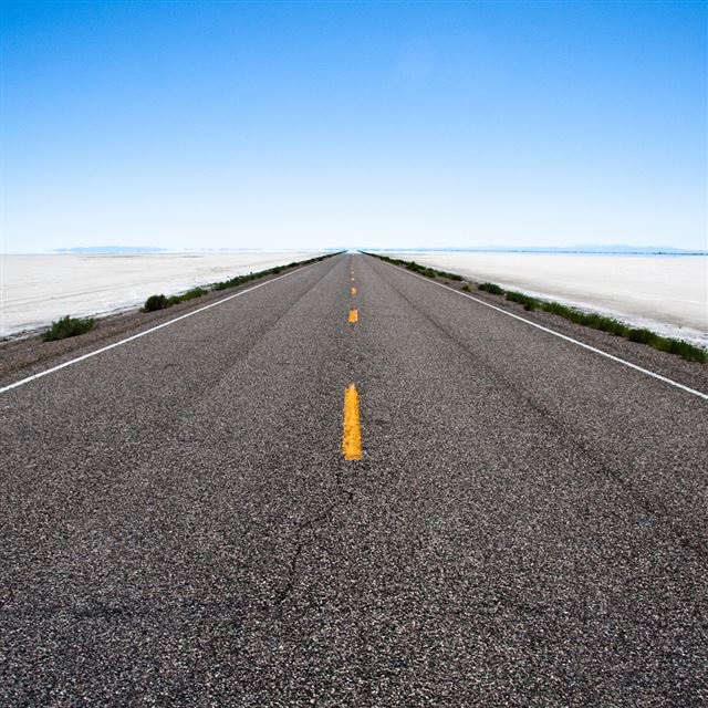 Saltflat Road iPad wallpaper