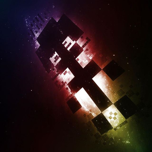 Space Tetris iPad wallpaper