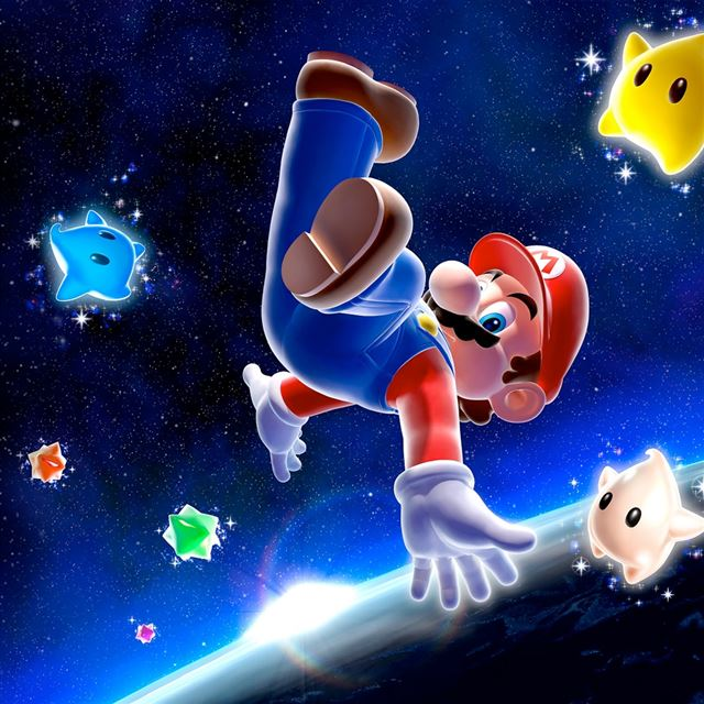 Super Mario Galaxy iPad wallpaper