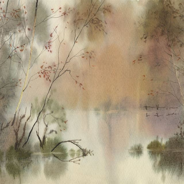 Chinese Painting iPad wallpaper