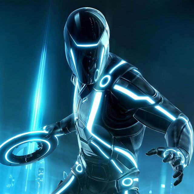Tron Legacy iPad wallpaper