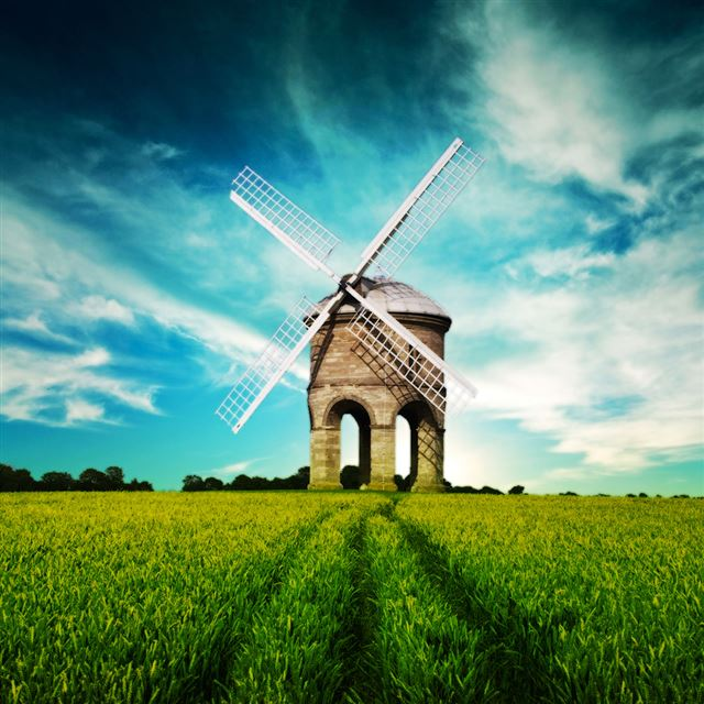 Windmill iPad wallpaper