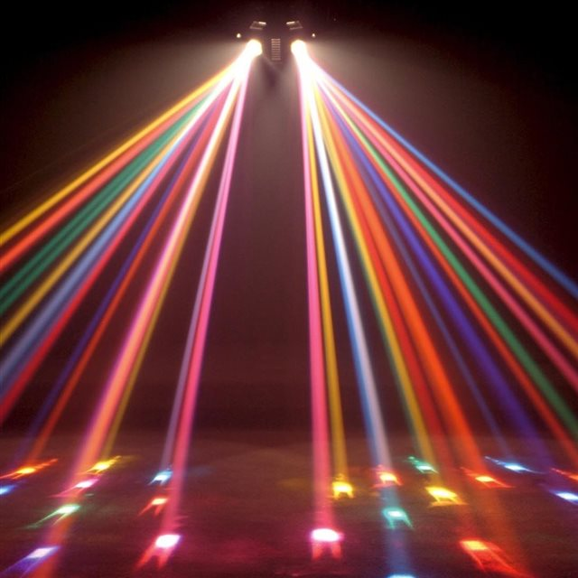 Disco Lights iPad wallpaper