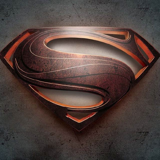 Man of Steel Superman iPad wallpaper