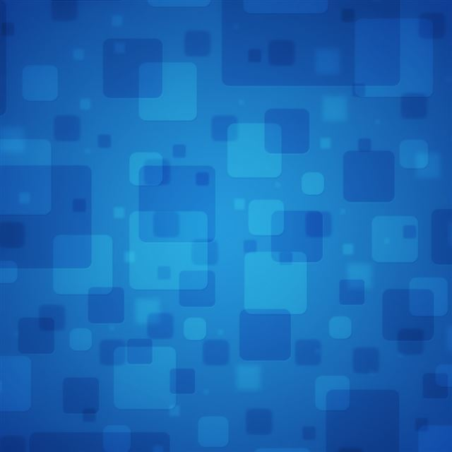 Blue Squares iPad wallpaper