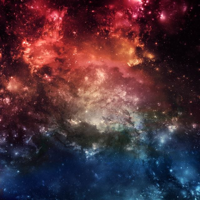Fantasy Space iPad wallpaper
