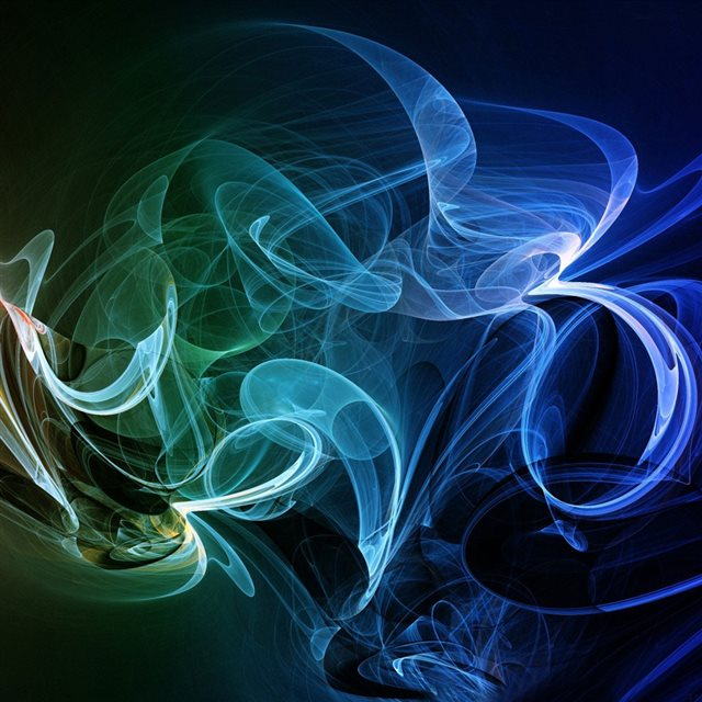Old Iphone Wallpapers: Rainbow Smoke Abstract IPad Wallpaper Download
