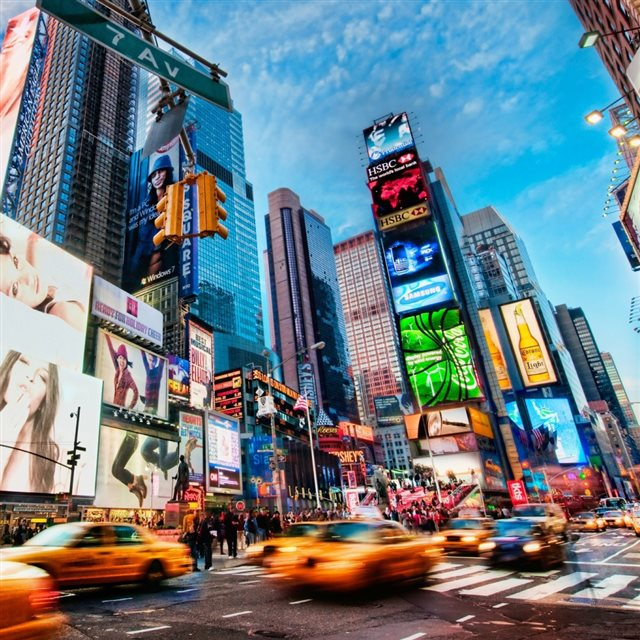 Wallpaper Iphone New York: Times Square New York IPad Wallpaper Download