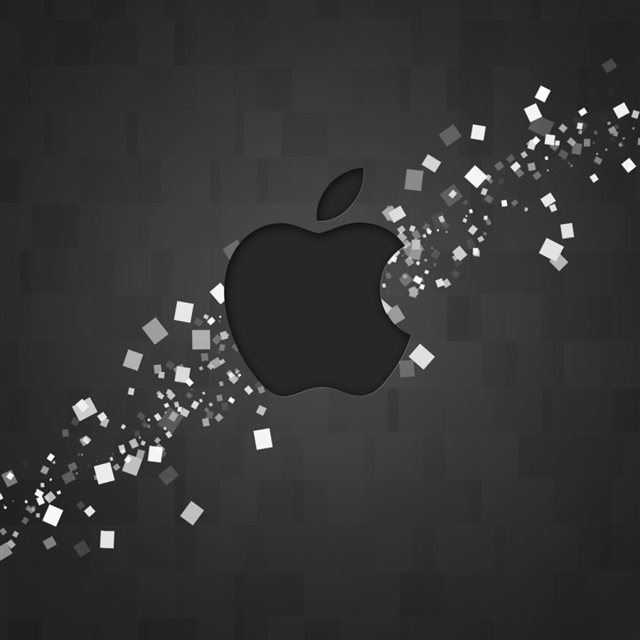 Hi Tech Apple Logo iPad wallpaper