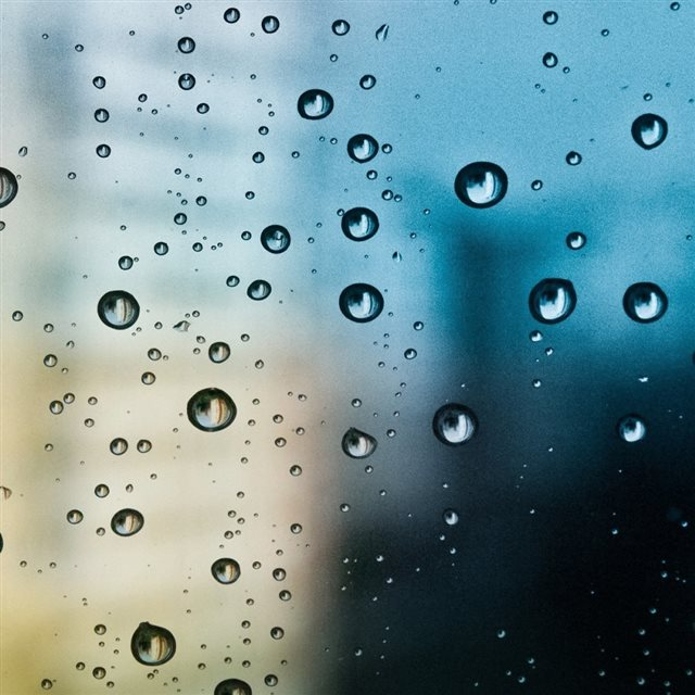 Rain Drop Window iPad wallpaper