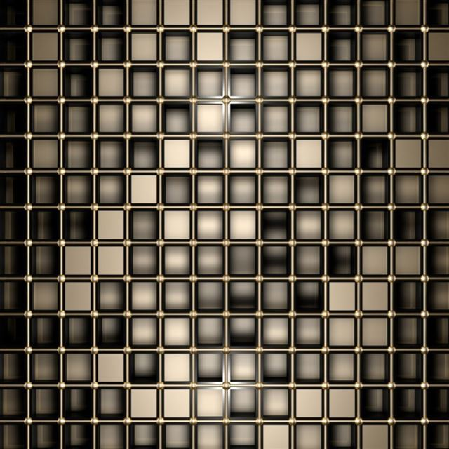 Bronze Squares iPad wallpaper