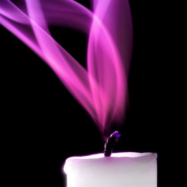 Purple Candle Picture iPad wallpaper