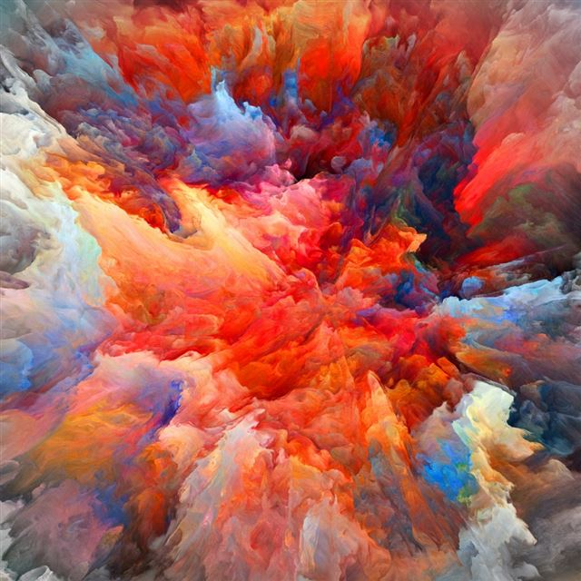 Explosion Of Colors iPad wallpaper