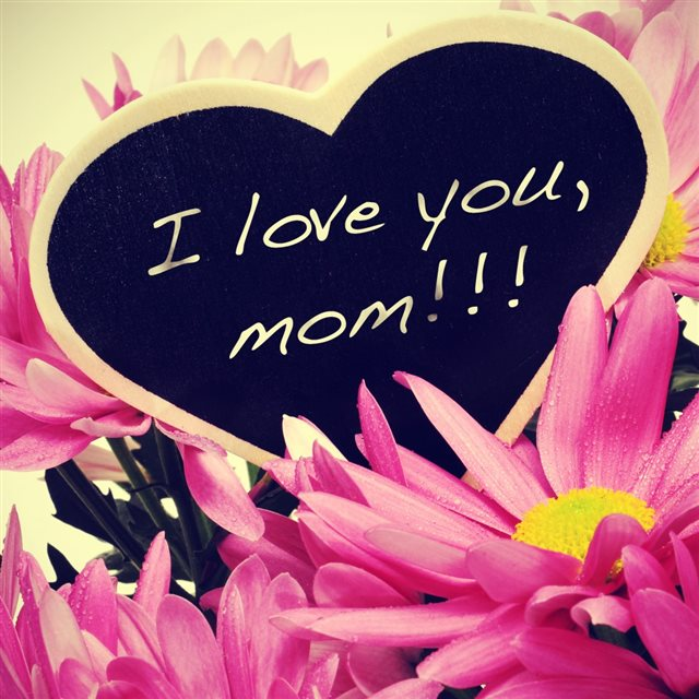I Love You Mom iPad wallpaper