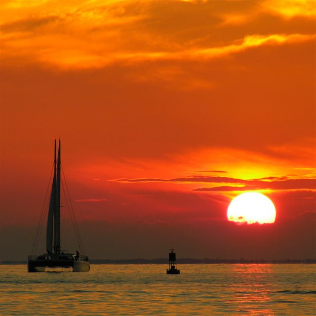 Catamaran iPad wallpaper