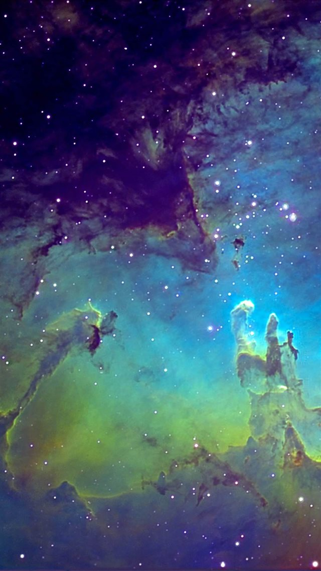 Fantasy Nebula Space iPhone 8 wallpaper