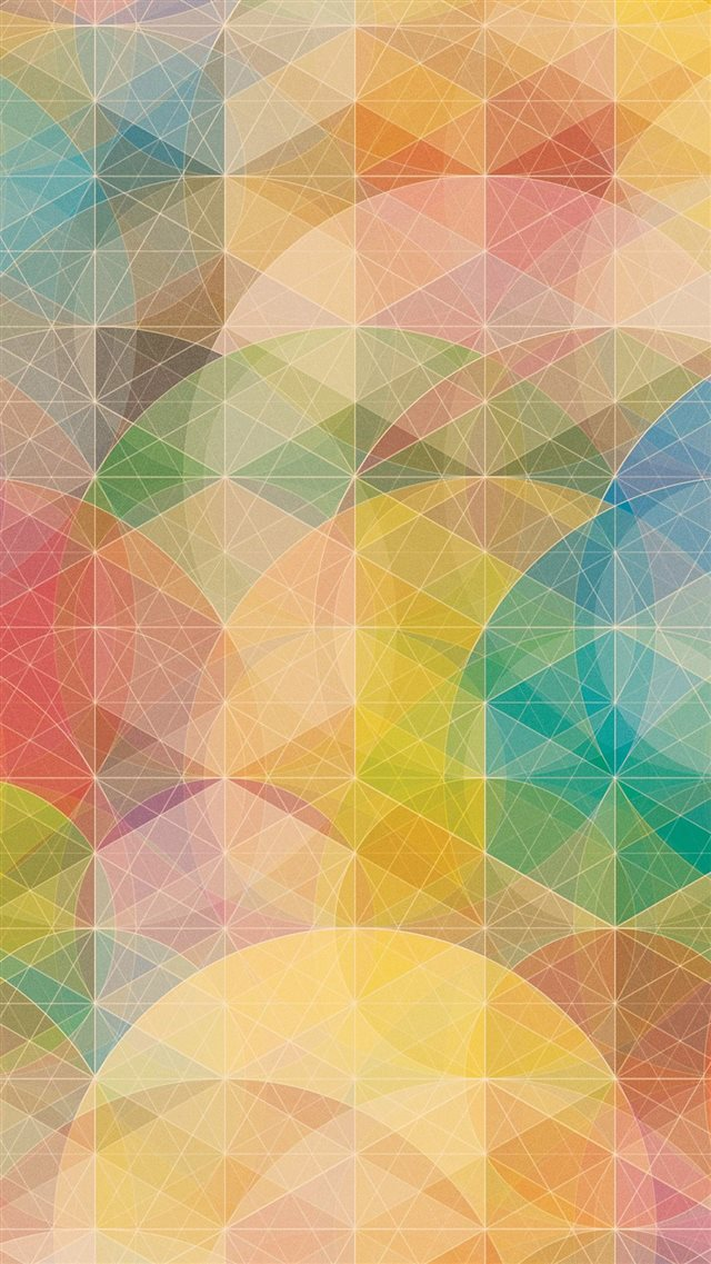 Geometric Shape iPhone 8 wallpaper