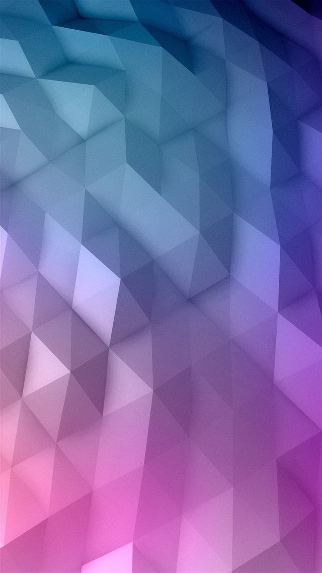 Gradient Geometry iPhone 8 wallpaper