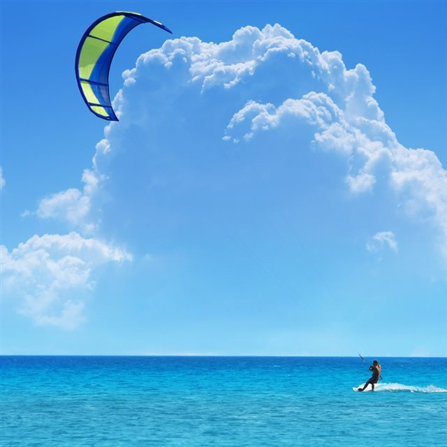 Sea Glide Superior iPad wallpaper
