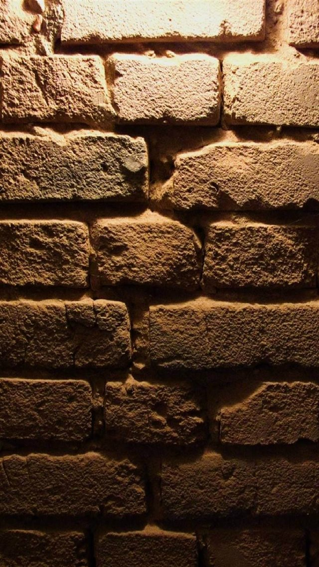 Old Brick Wall Texture iPhone 8 wallpaper