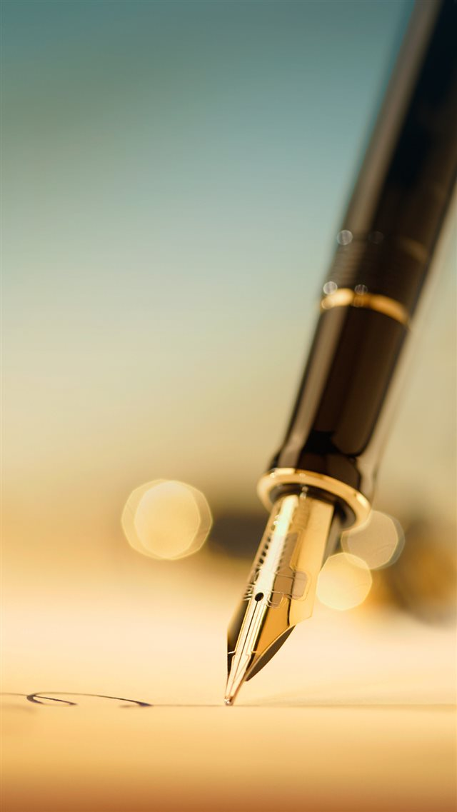 Pen Closeup iPhone 8 wallpaper