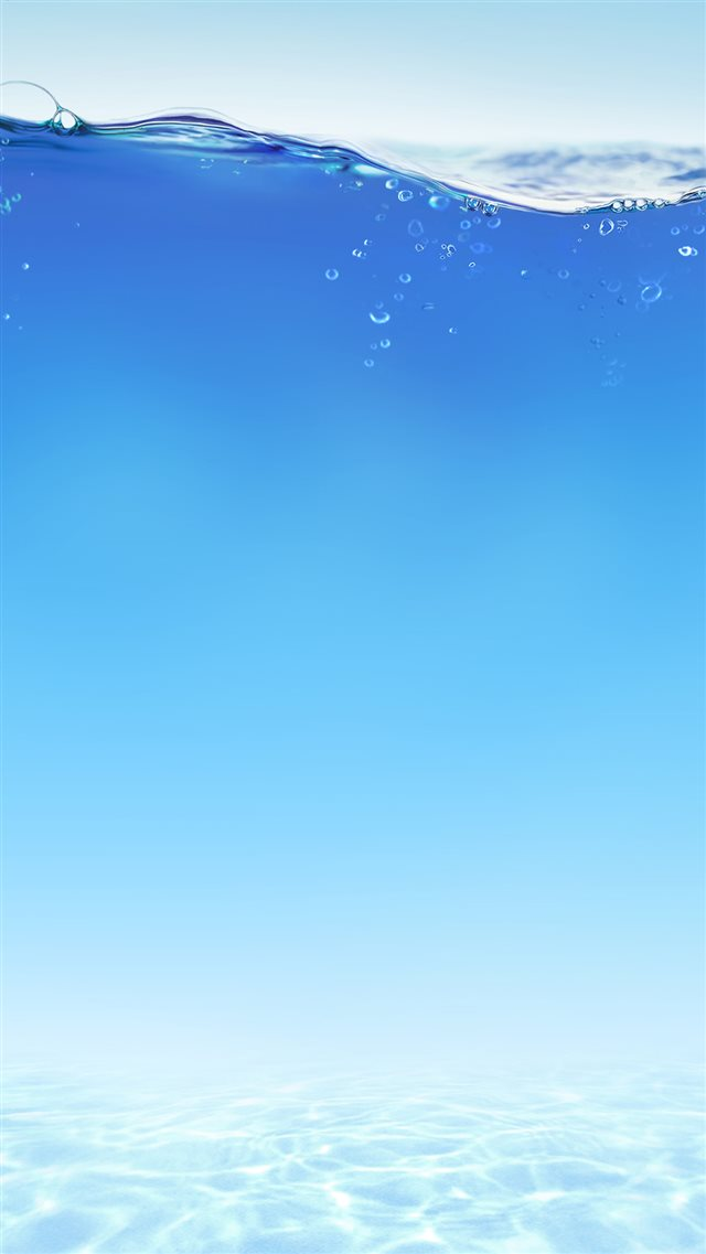 Under Blue Water iPhone 8 wallpaper