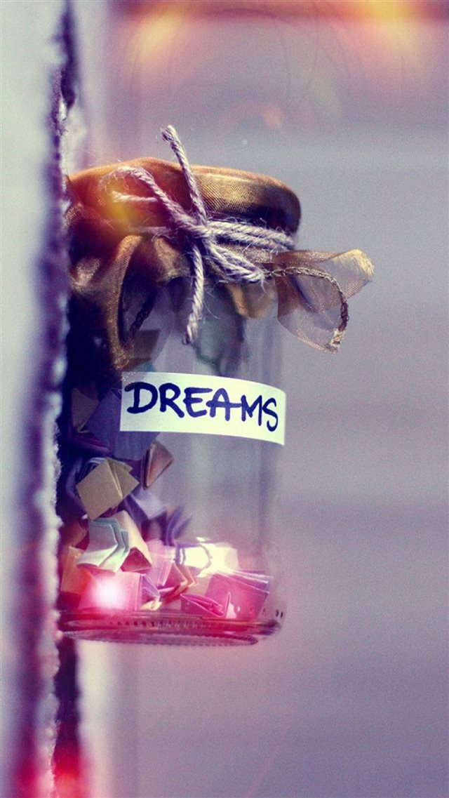 Dreams In A Jar iPhone 8 wallpaper
