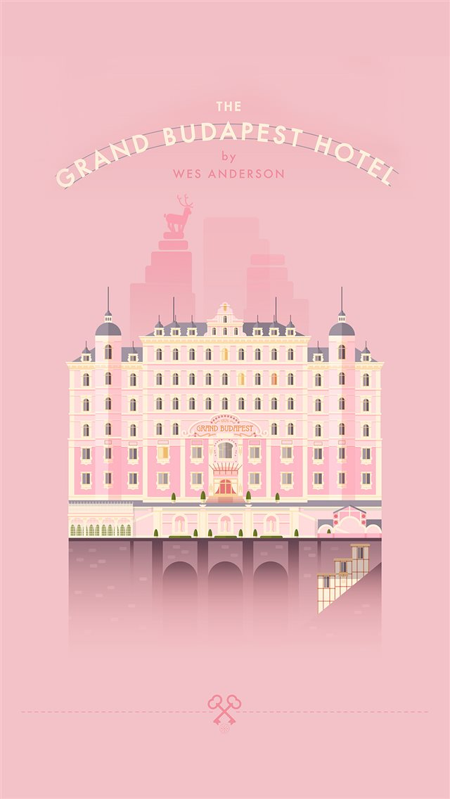Grand Budapest Hotel iPhone 8 wallpaper