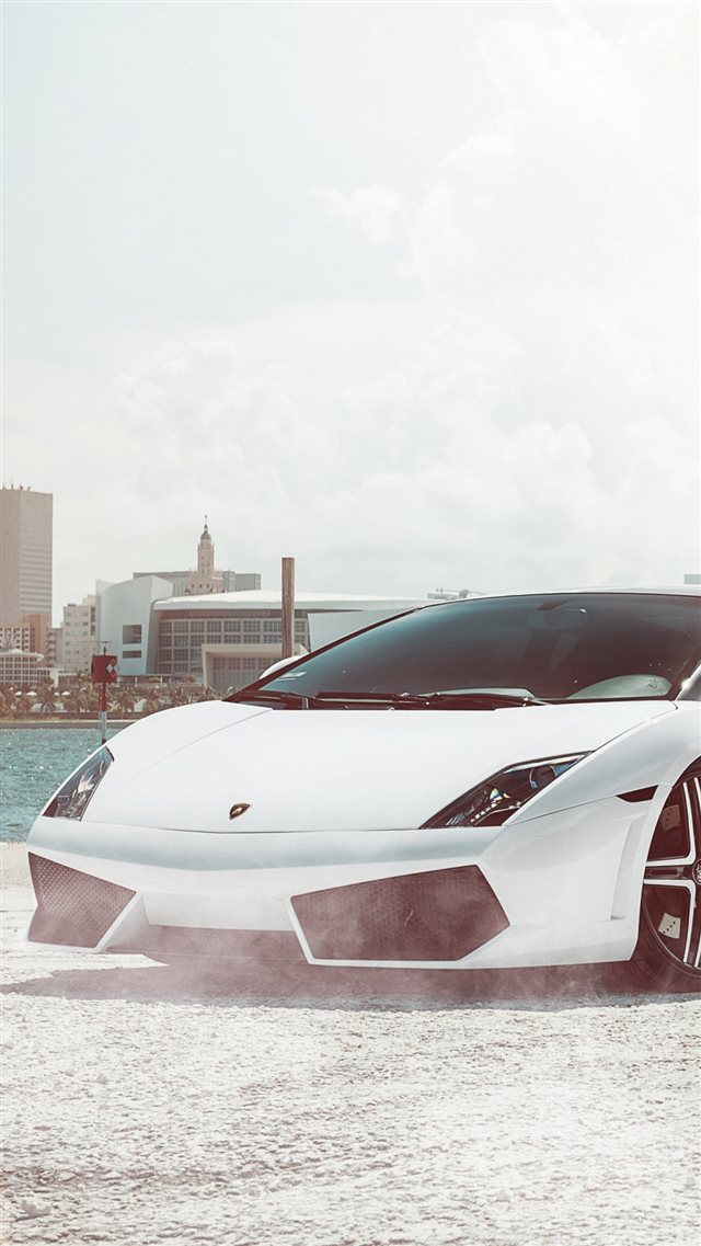 Lamborghini Gallardo Supercar  iPhone 8 wallpaper