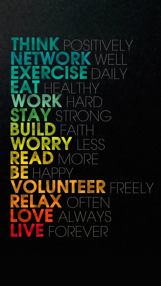 Words Of Wisdom iPhone 8 wallpaper