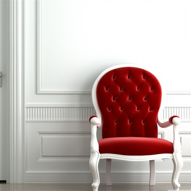 Red Chair iPad wallpaper