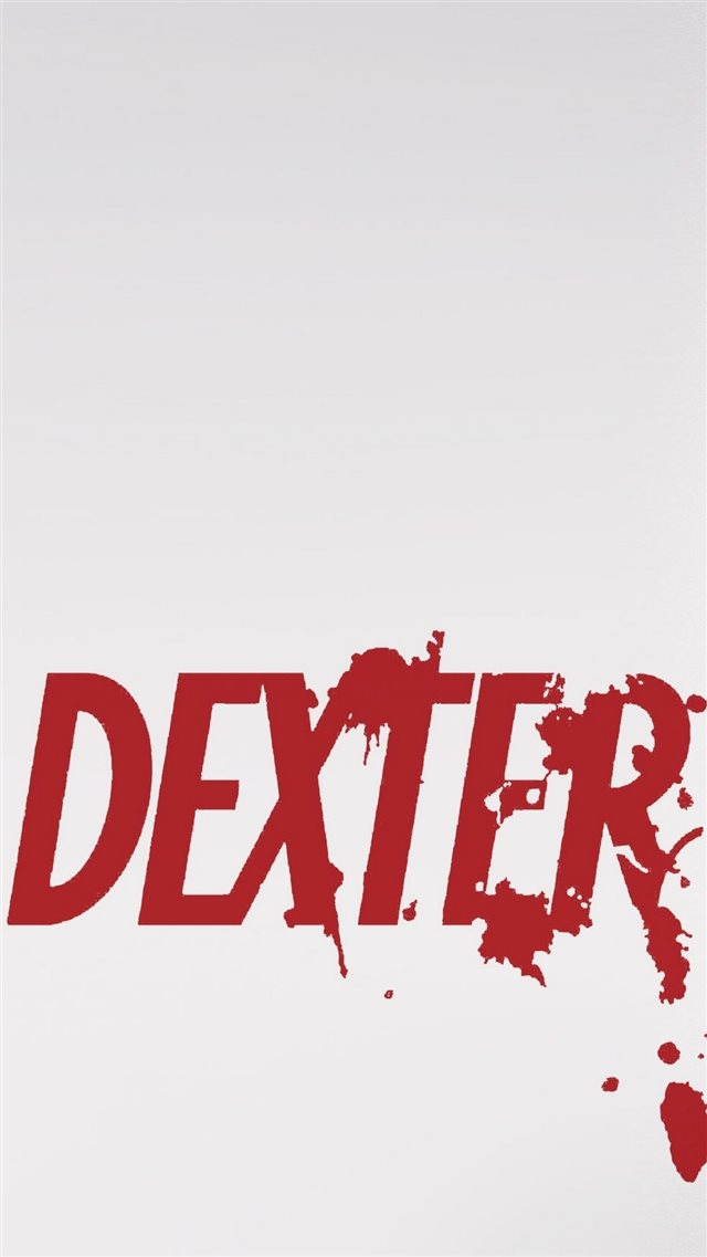 Dexter Series Logo iPhone 8 wallpaper