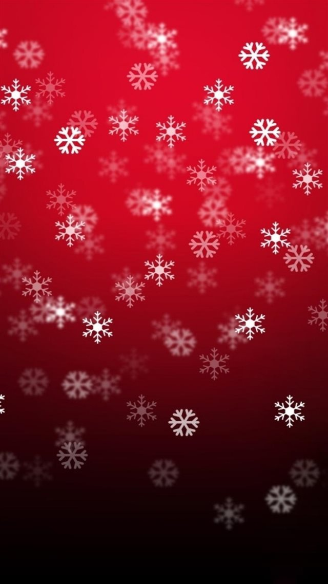 Christmas Snowflake Pattern Background iPhone 8 wallpaper