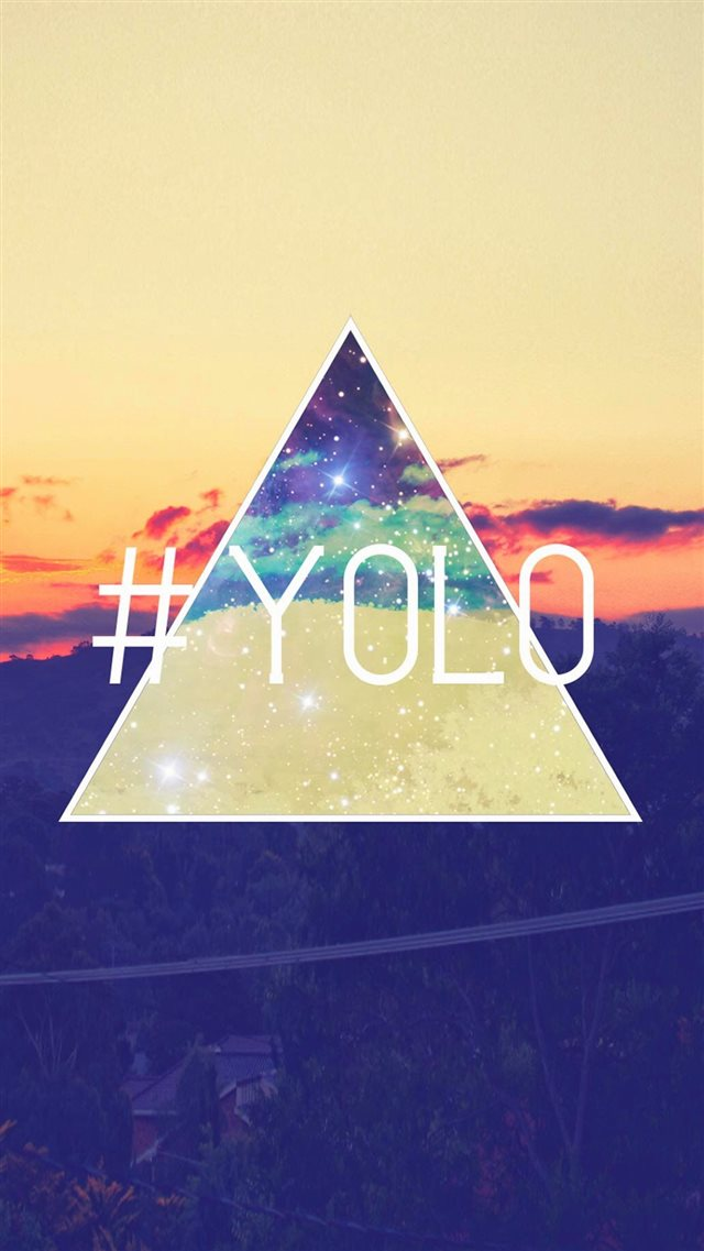 Yolo You Only Live Once Retro Iphone 8 Wallpaper Download