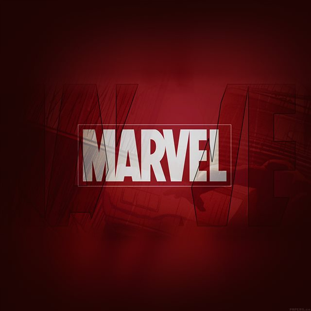 Marvel Logo Background iPad wallpaper
