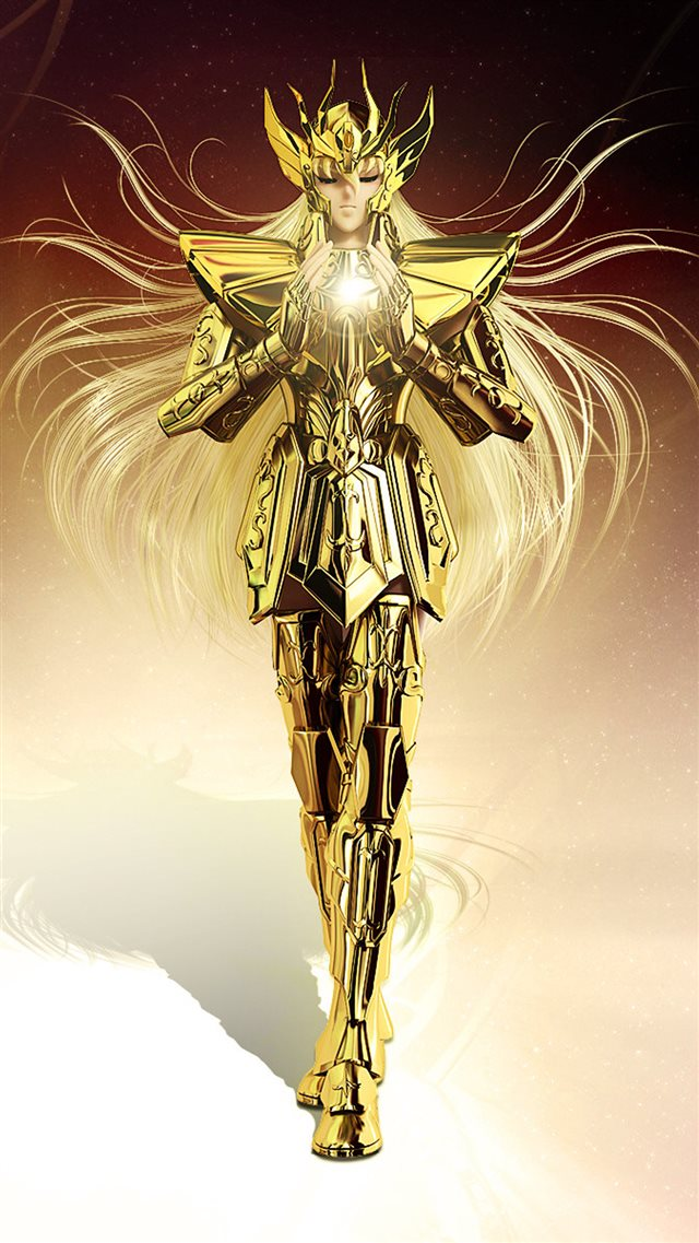 Saint Seiya Anime Poster iPhone 8 wallpaper