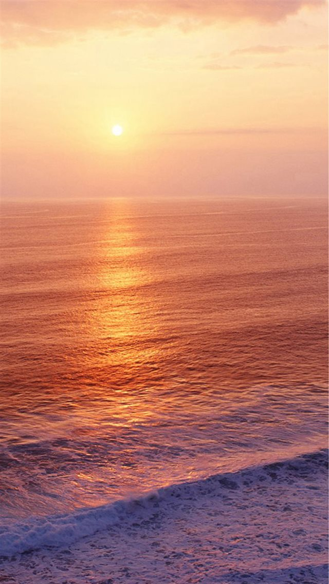 Nature Ocean Sunset Bubble Iphone 8 Wallpaper Download Iphone