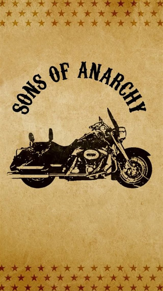 Sons of Anarchy Motorcycle iPhone 8 wallpaper