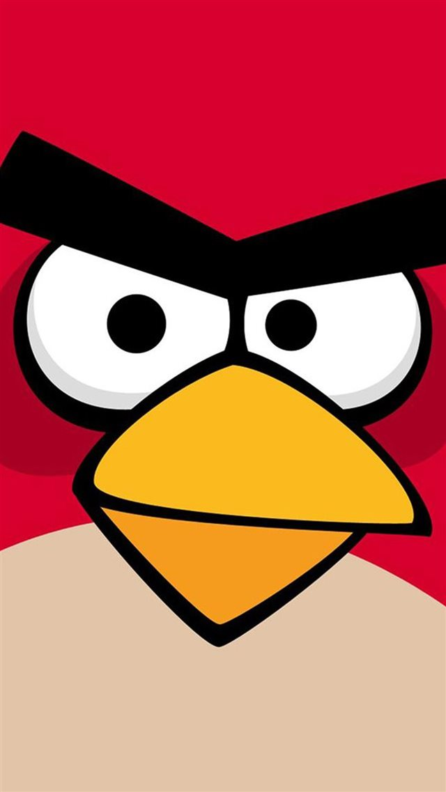 Angry Bird Game Background iPhone 8 wallpaper