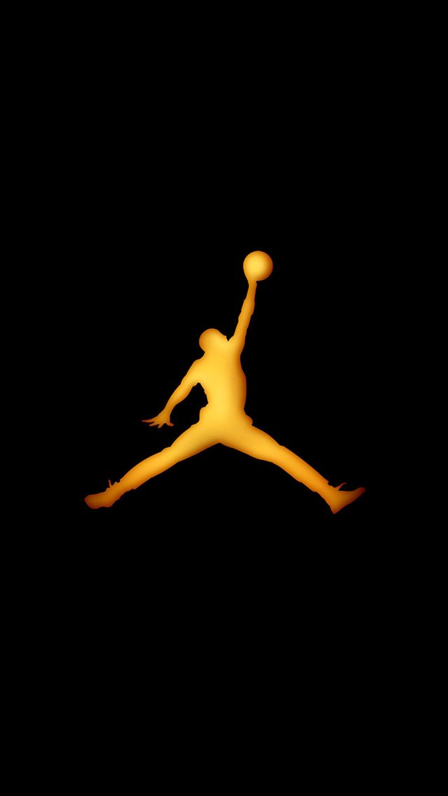 Basketball Sport Layup Outline iPhone 8 wallpaper