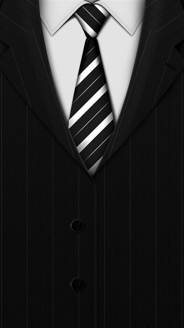 Abstract Black Suit Tie Background iPhone 8 wallpaper