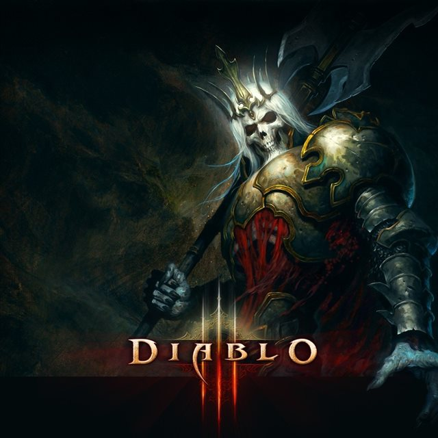 Diablo 3 Death King iPad wallpaper
