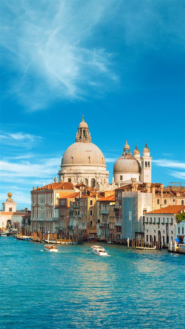 Gorgeous View Of The Grand Canal iPhone 8 wallpaper