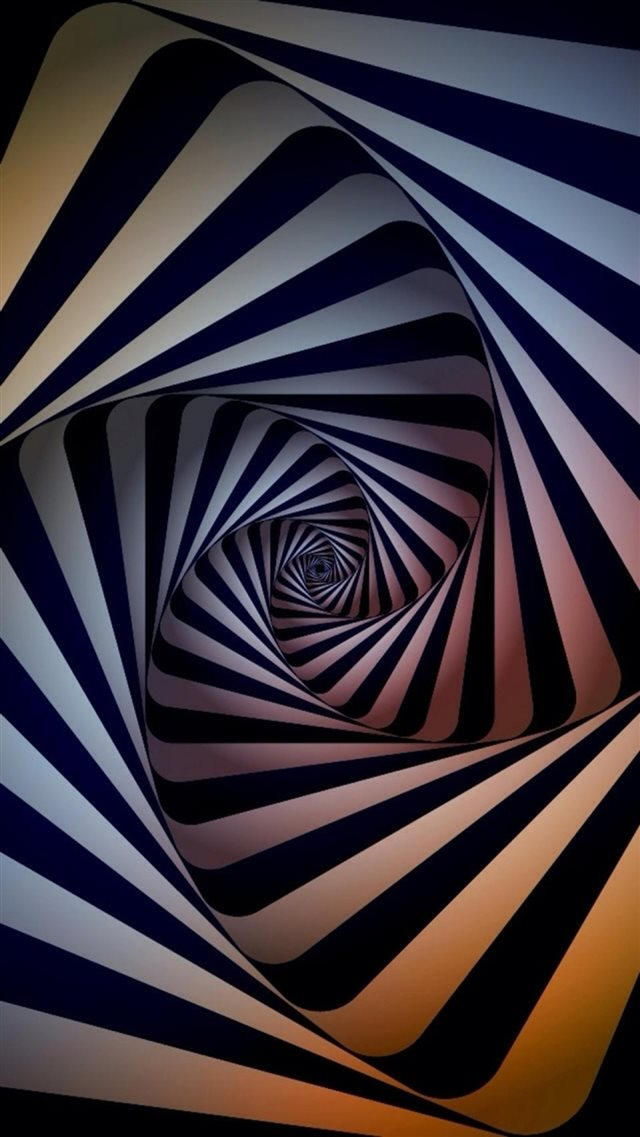 Abstract Swirl Dimensional 3D  iPhone 8 wallpaper