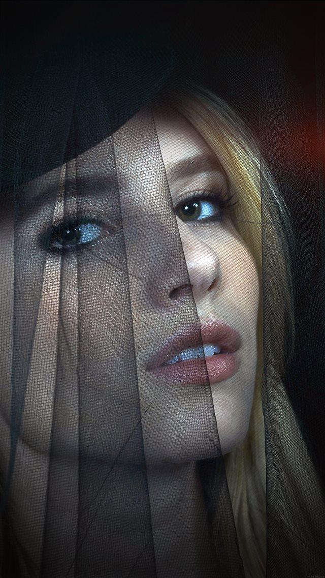 Emma Roberts American Horror Story Dark Iphone 8 Wallpapers