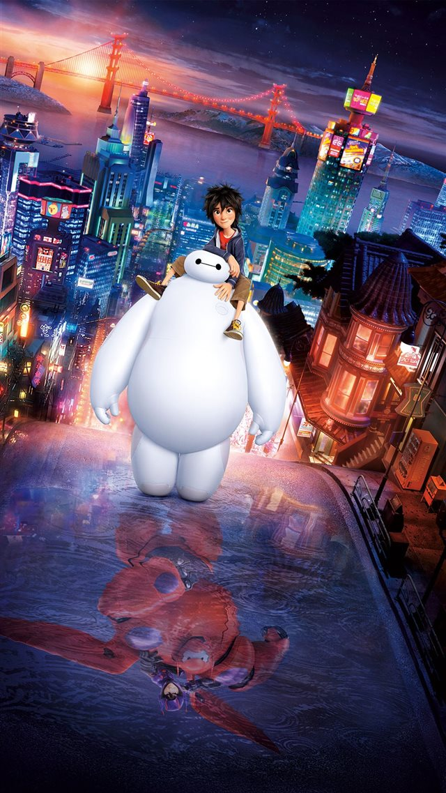 Big Hero 6 Movie Poster iPhone 8 wallpaper